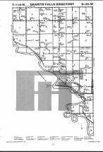 Map Image 019, Chippewa County 1984 Published by Farm and Home Publishers, LTD